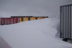 Stacja Zimą   Station in winter