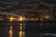 Stacja nocą   Station by night